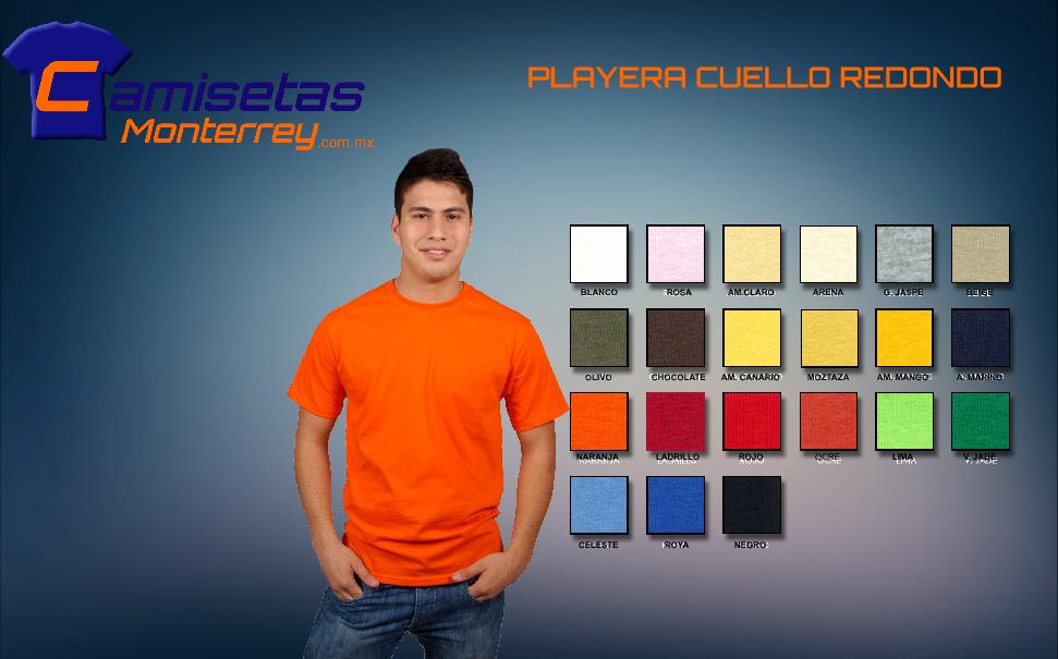 Camisetas Impresas Monterrey