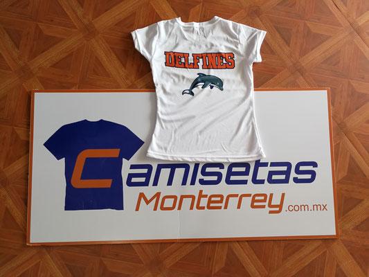 CAMISETAS DEPORTIVAS MONTERREY