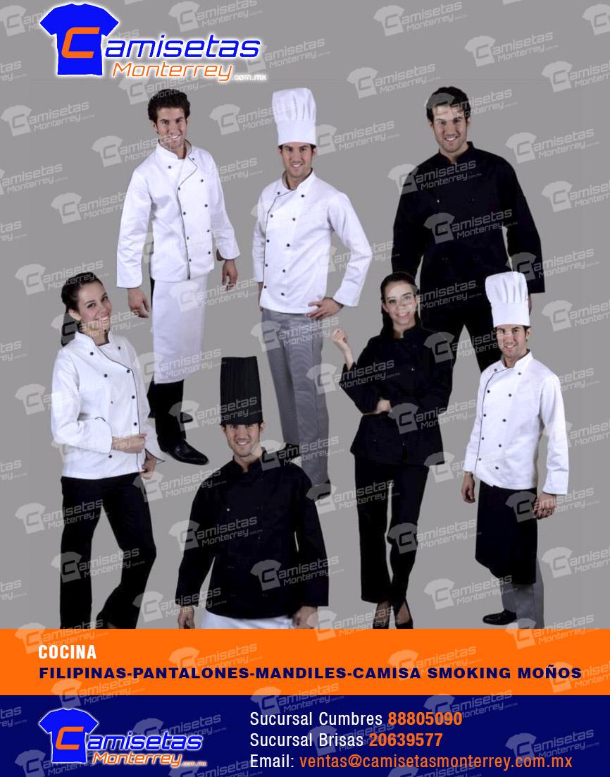 Uniformes industriales monterrey camisetas monterrey for Cocinas industriales monterrey