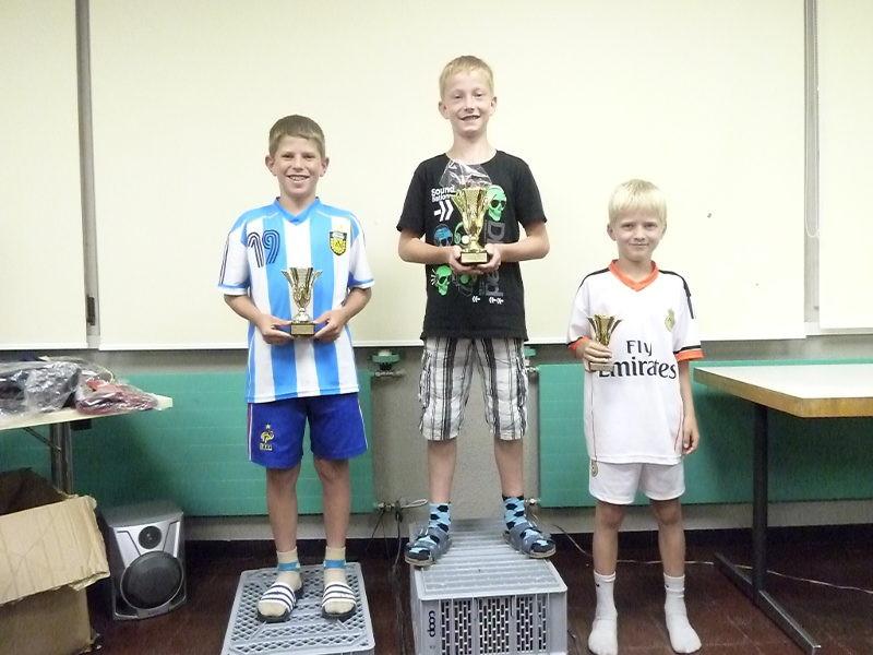 Die diesjährigen Lagercup-Sieger. Bei den F/E Junioren,
