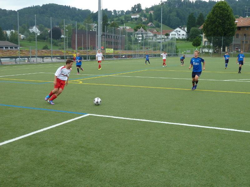 Am Nachmittag bestritt die C-Selection ein Testspiel gegen Teufen, welches mit 6:1 gewonnen wurde.