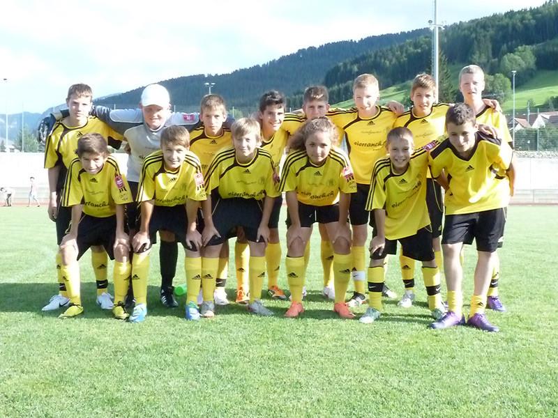 Am frühen Abend bestritt die C-Selection unter kräftiger Unterstützung der Lagerteilnehmer ein Freundschaftsspiel gegen den FC Appenzell (4:4).