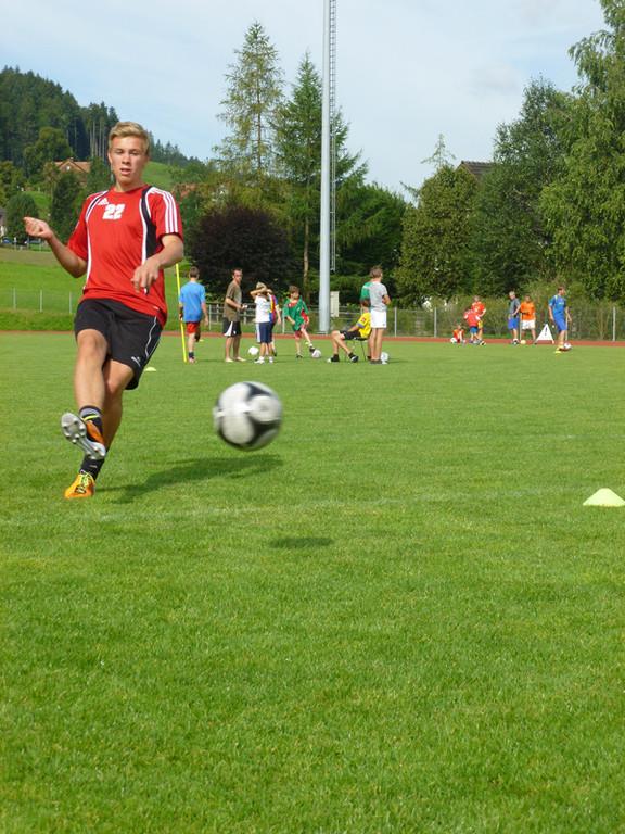Die Junioren und Junioren mussten sich dabei in verschiedenen Disziplinen beweisen.
