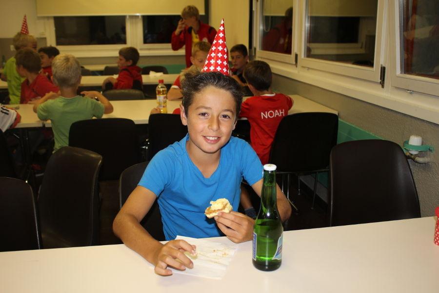 Auch Geburtstagskind Jasper Janssen.