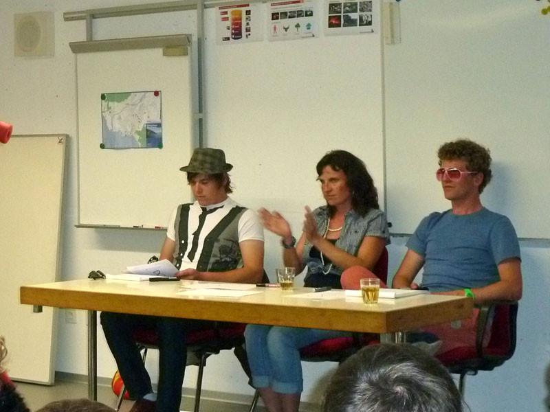 In der Jury sassen James Blunt, Fränzi Jordi und Atze Schröder.