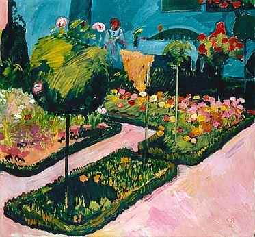 Der Garten, Öl/Leinwand, 1912