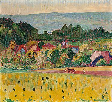Oschwand im Sommer, Öl/Leinwand, 1923
