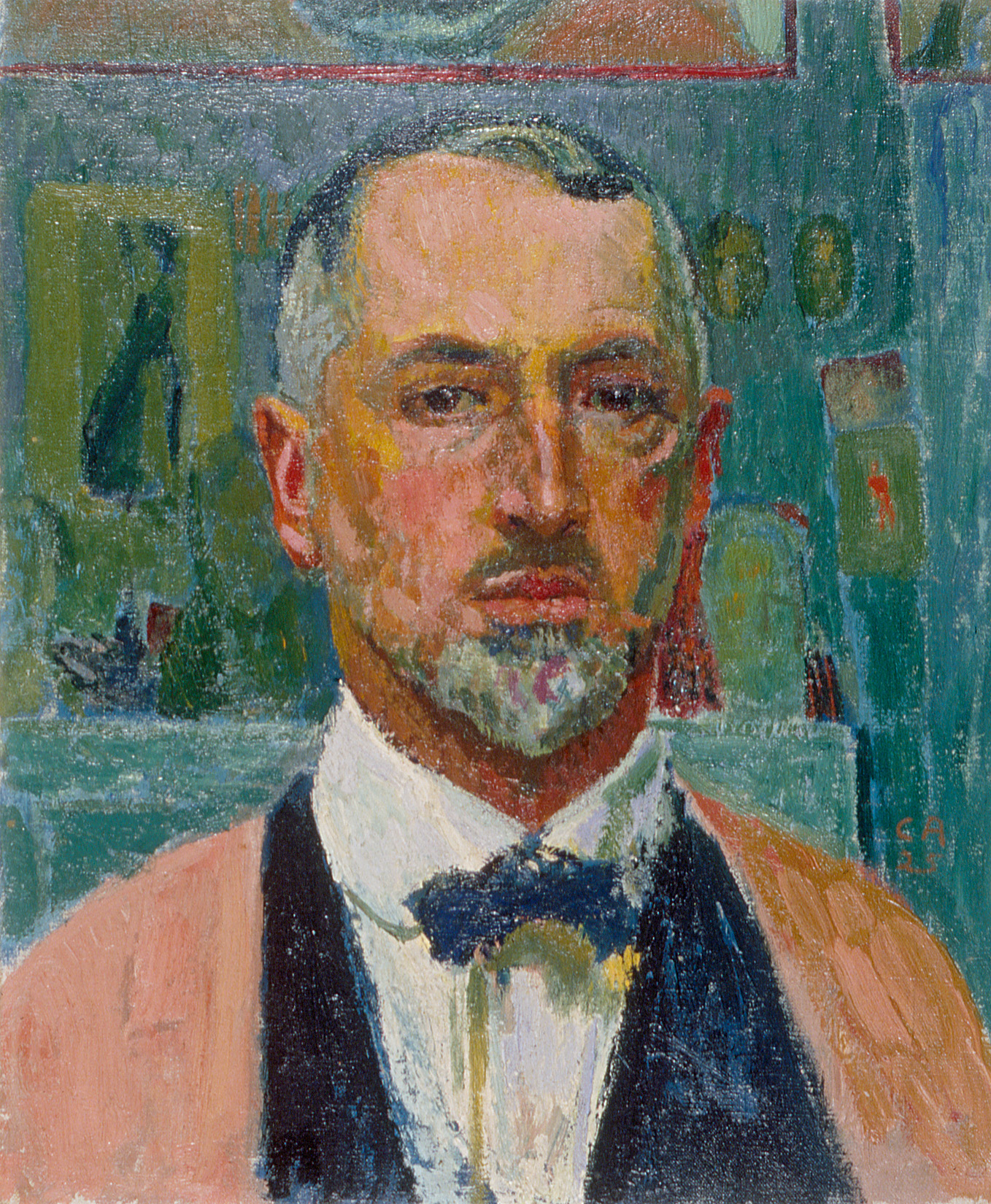Cuno Amiet, Self-portrait, 1925