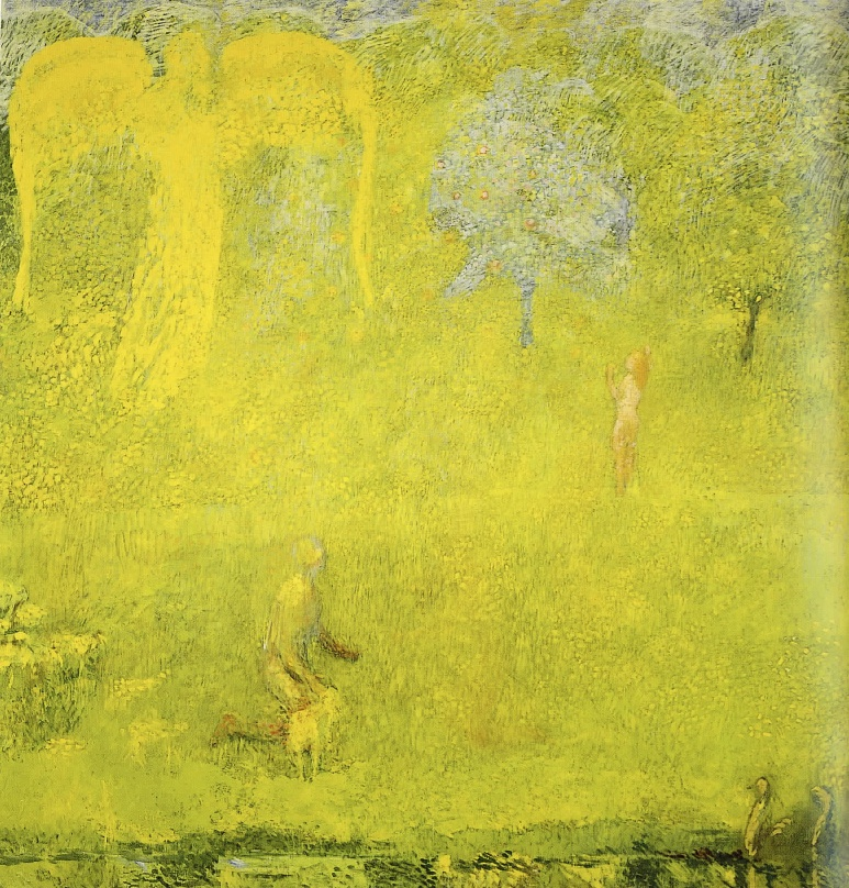 Cuno Amiet, Paradise, 1958, Museum of Fine Arts Berne