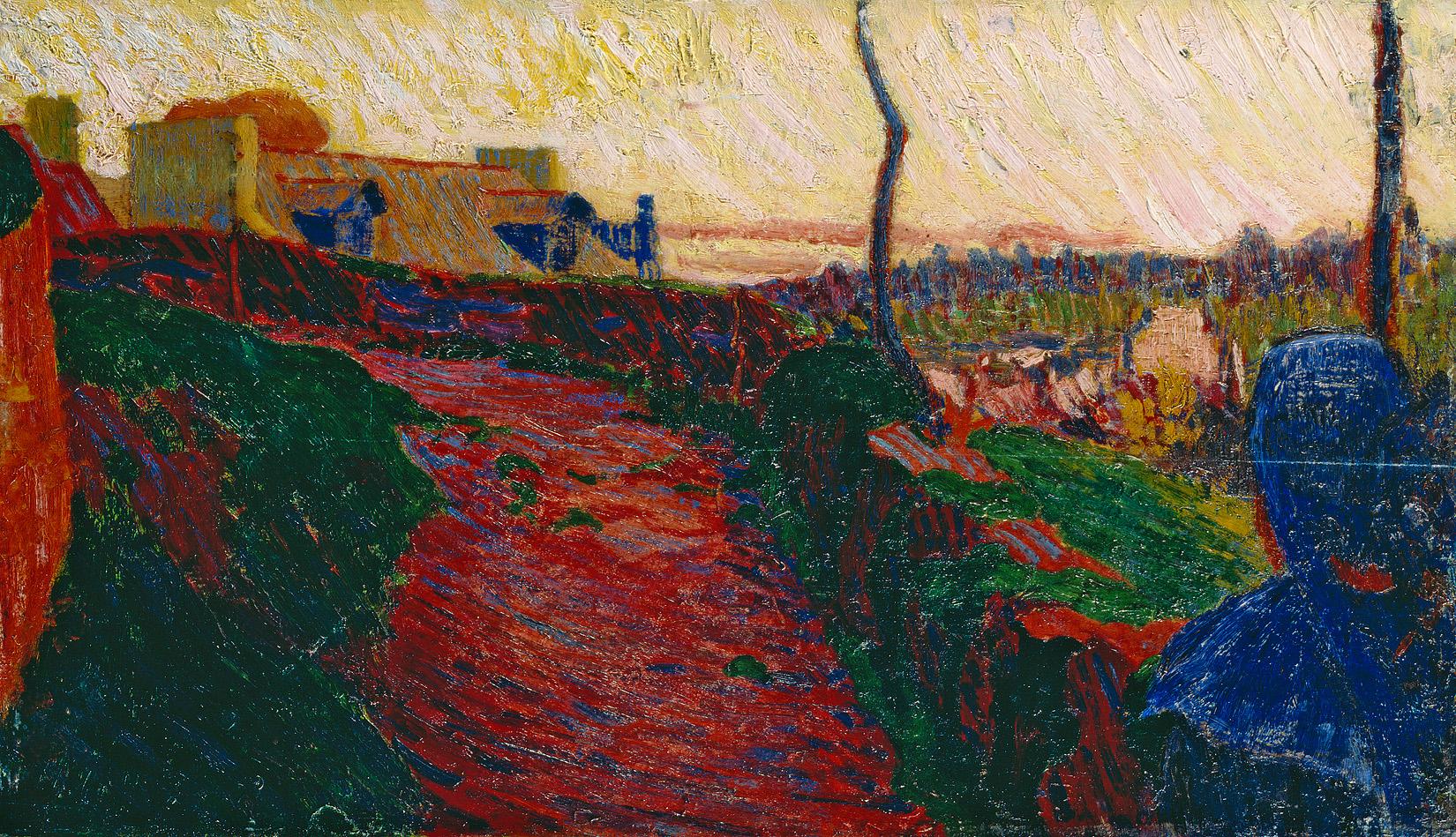 Cuno Amiet, Bretonin vor Pont-Aven, 1892/93, Kunsthaus Zürich