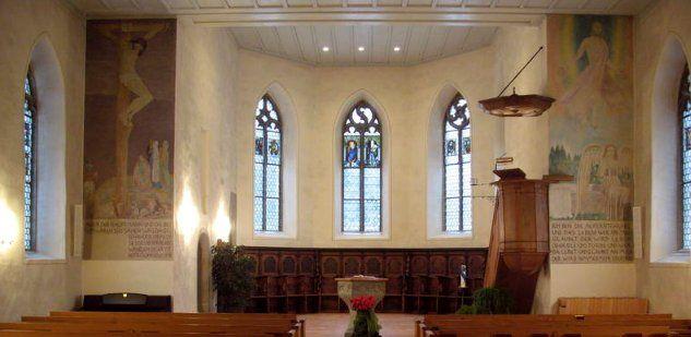 Fresken Kirche Seeberg