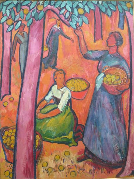 Cuno Amiet, Fruit Harvest II, 1914