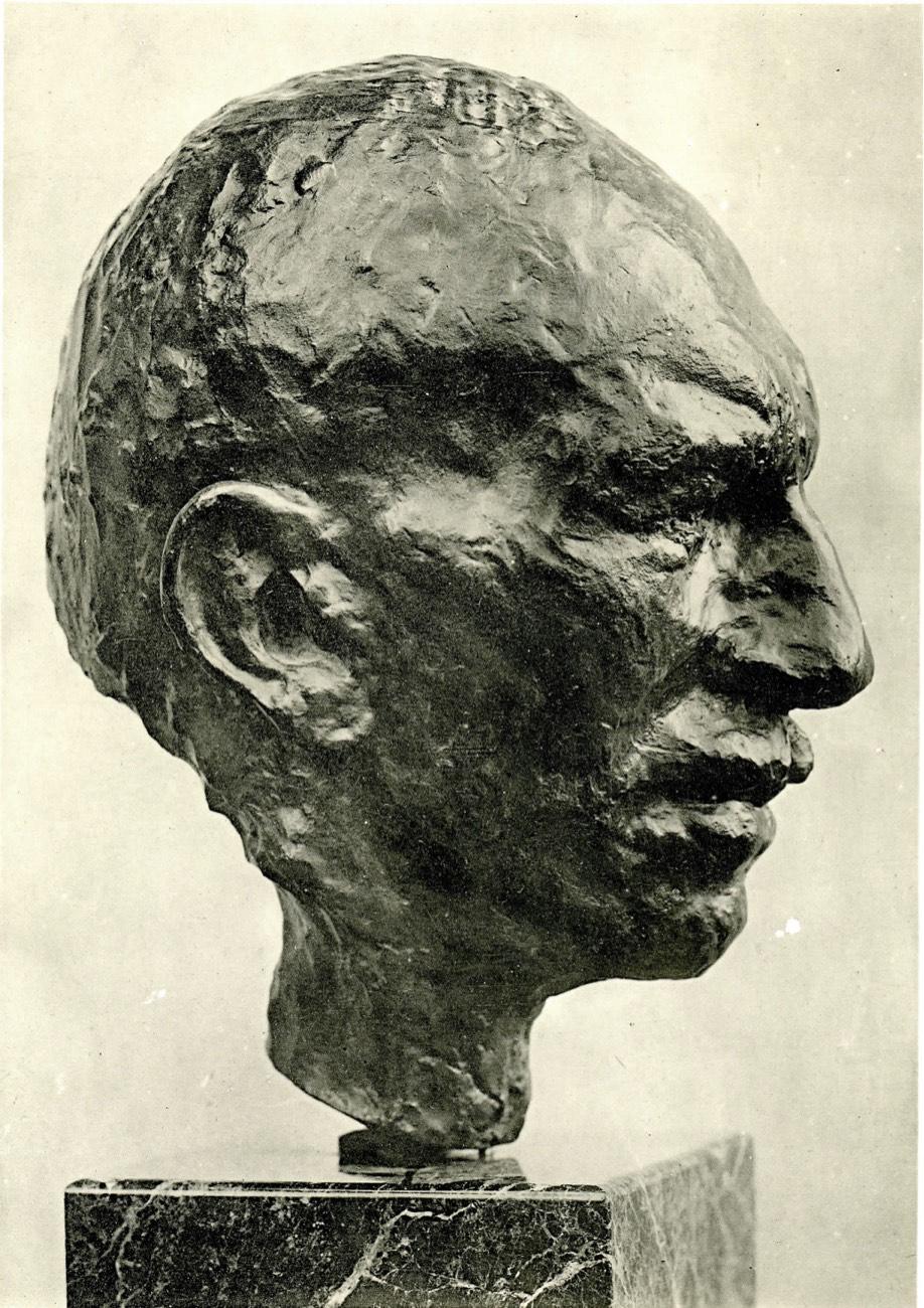 Cuno Amiet, Bronze Oscar Miller, 1912