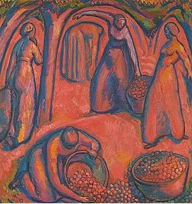 Obsterne I, 1912, Öl auf Leinwand, Privatbesitz