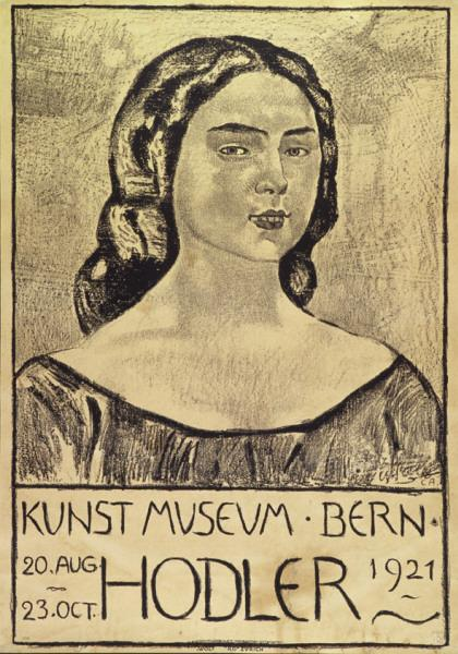 Cuno Amiet, Berne Museum of Fine Arts, poster, 1921