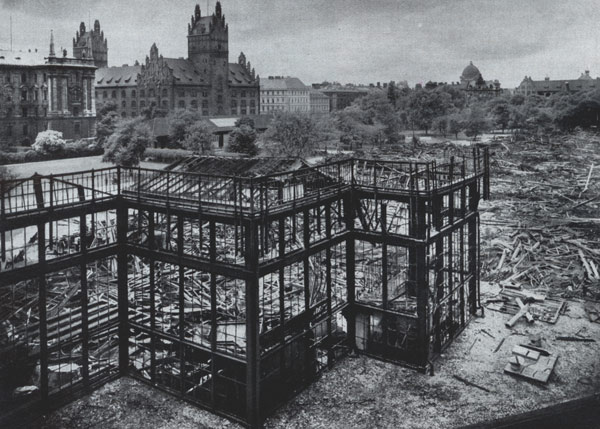 Brand des Münchner Glaspalastes, 1931