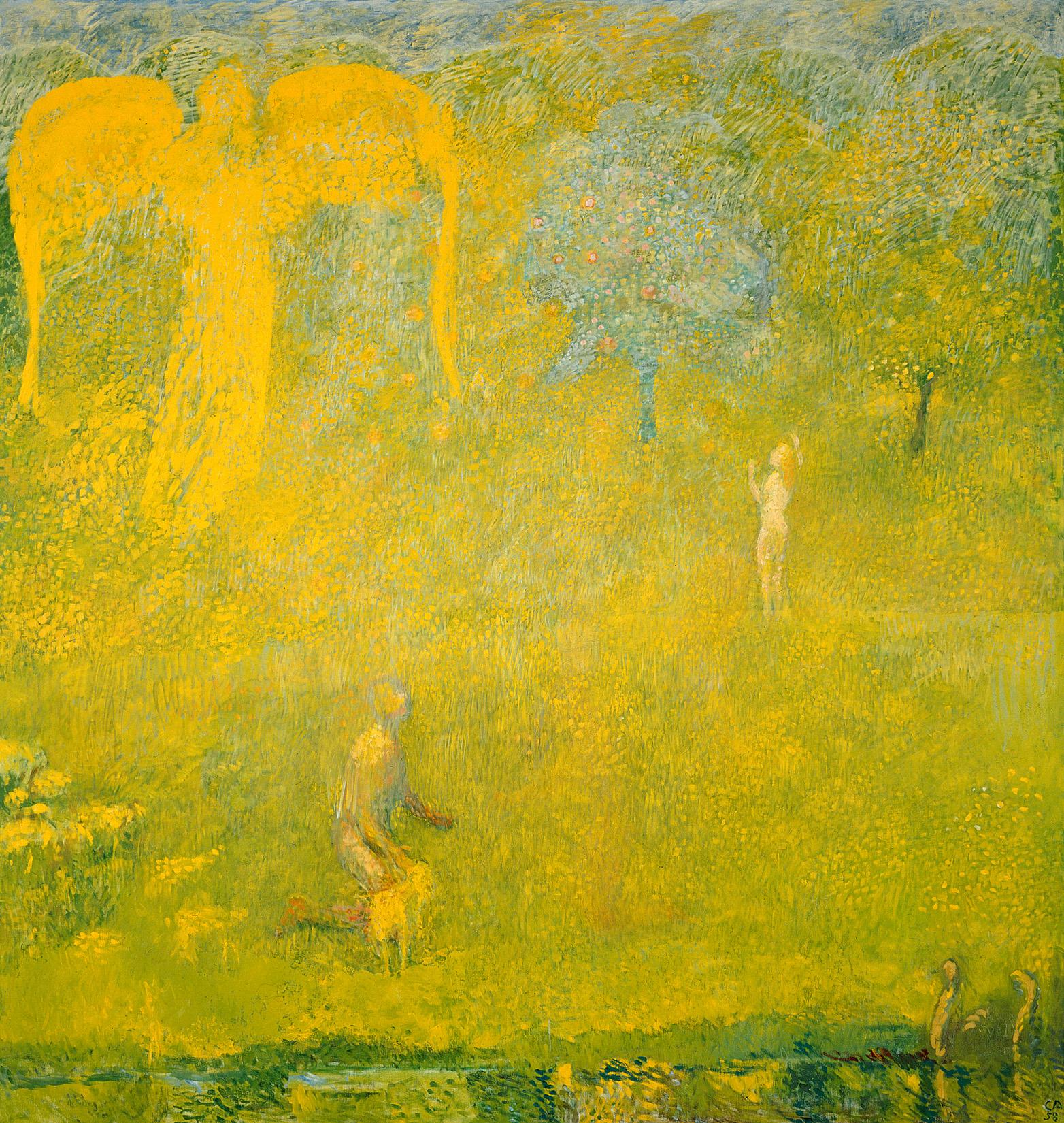 Cuno Amiet, Paradies, 1958
