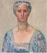 Bildnis Maria Philippi, Öl/Leinwand, ca. 1917