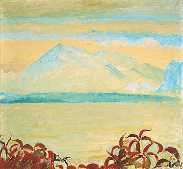Gelber Niesen, Öl/Leinwand, 1931 (Flämmli)