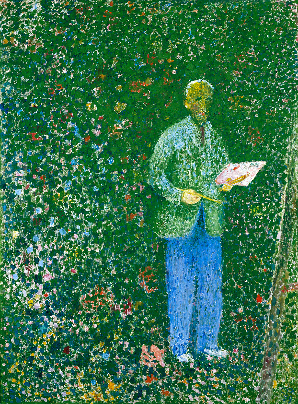 Cuno Amiet, The Painter, 1959