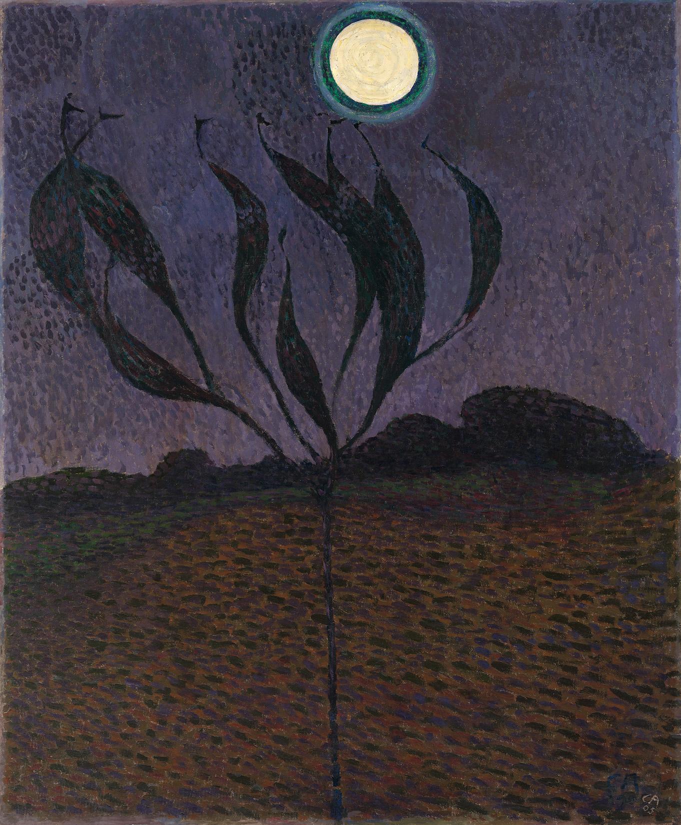 Cuno Amiet, Mondlandschaft, 1905
