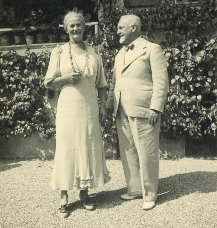 Cuno und Anna Amiet, 1936