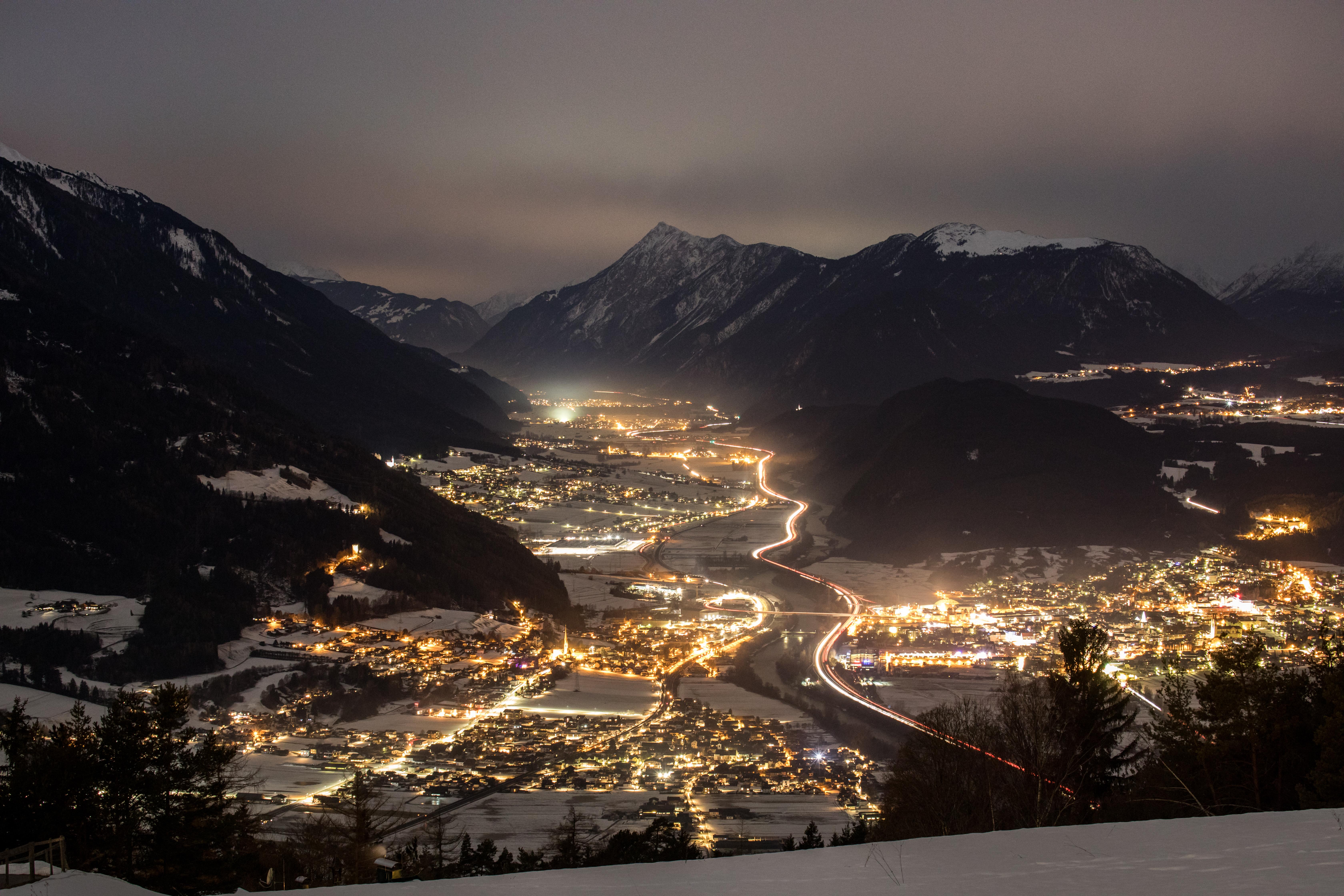 Weitsicht: Gleich links um die Ecke folgt Innsbruck