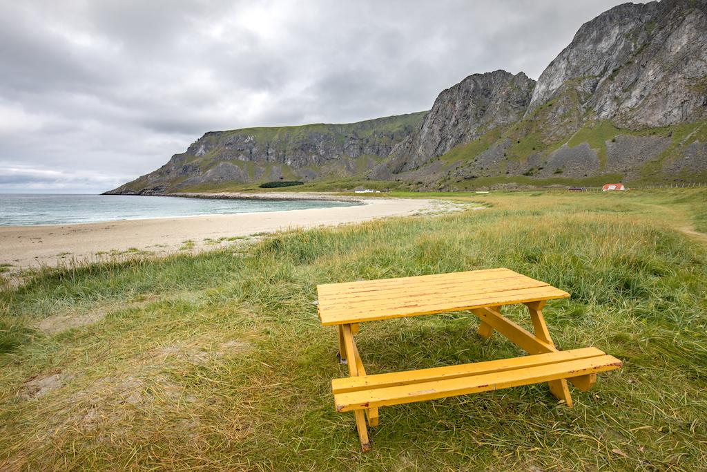 Lofoten - Unstad Beach