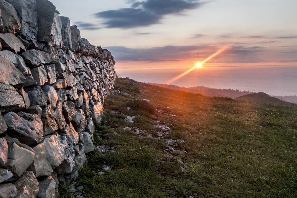 Sonnenaufgang Mont Tendre