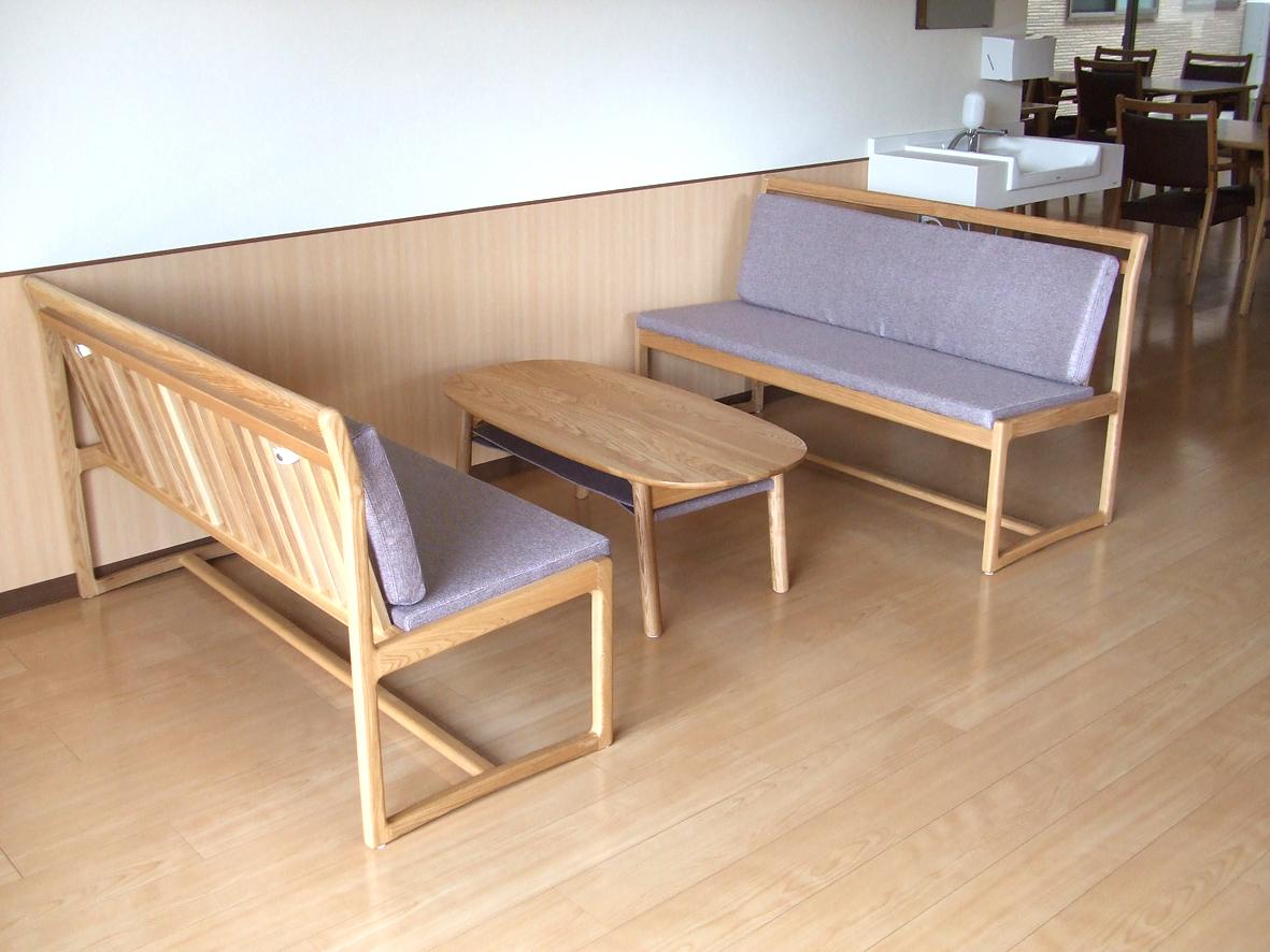 サロン用 ベンチ・テーブル