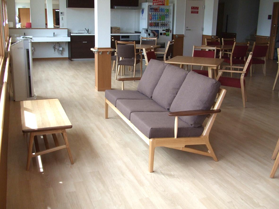 食堂用 ソファ・チェア・テーブル