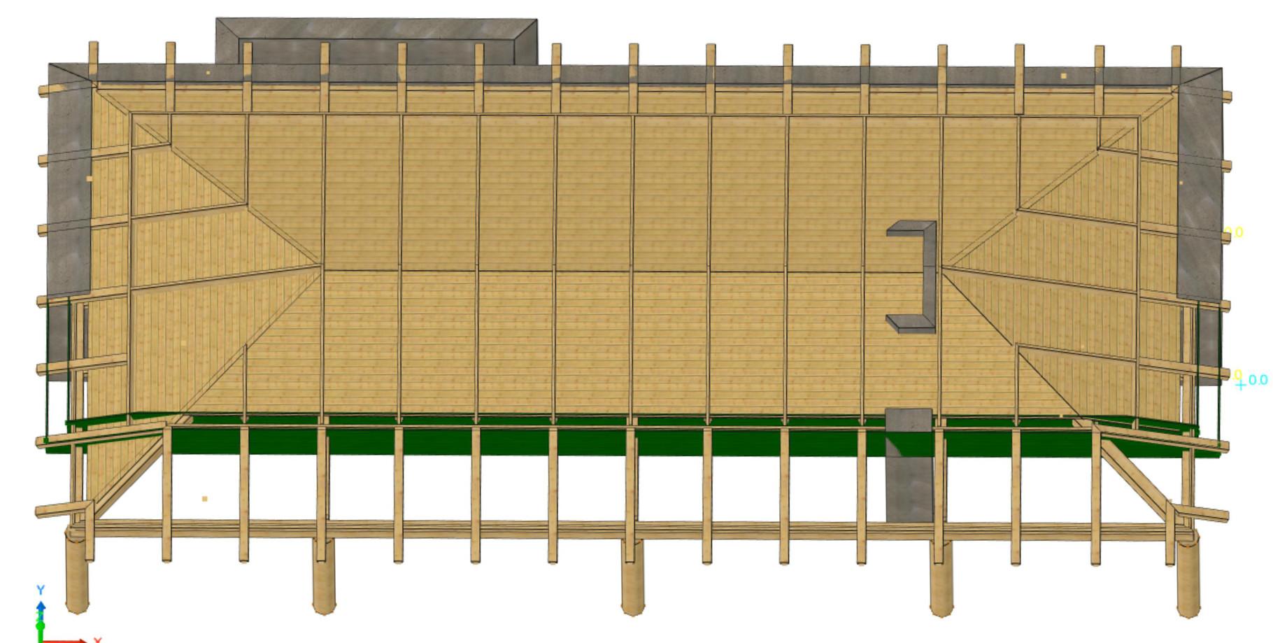 Volige bois du nord épicea 21x135 et 21x100 mi bois de 12mm