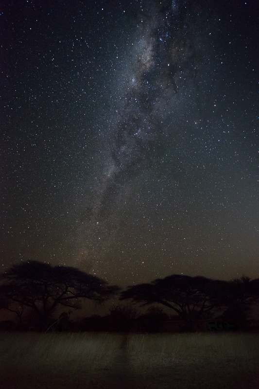 With almost non-existing light pollution, Namibia is one of the best places for observing the night skies.