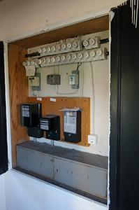 Stromkasten vorher