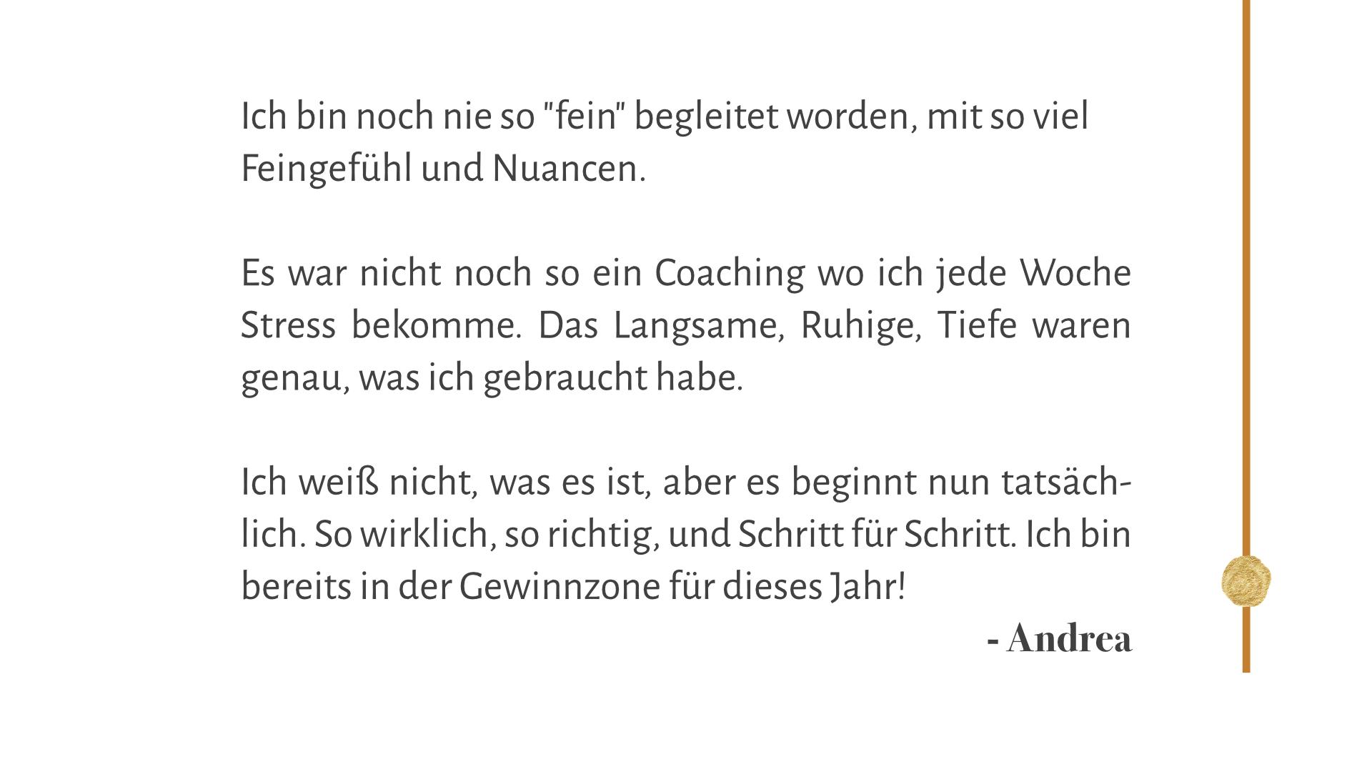 Andrea, Therapeutin & Coach bei Ess- und Körperbildstörungen