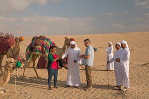 Auf den Spuren der Beduinen - Kamelritt