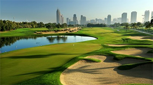 DUBAI - EMIRATES GOLF CLUB - FALDO COURSE