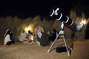 Al Marmoom Sternebeobachtung