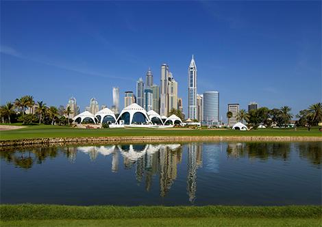 DUBAI - EMIRATES GOLF CLUB FALDO COURSE