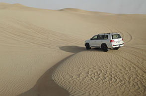 Dune Bashing mit Hummer
