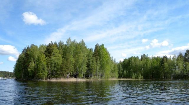 Lake in Finland 2012