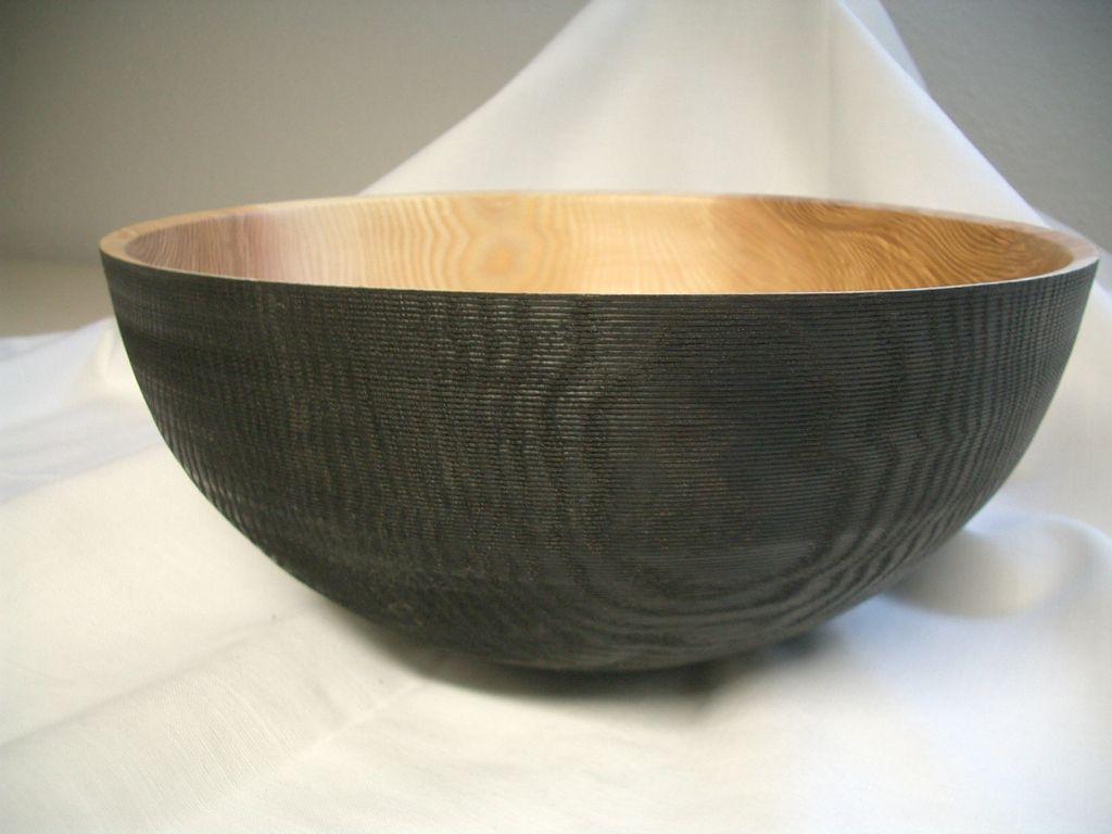 Nr.: 160, Esche einseitig geräuchert, 26 x 11,5 cm