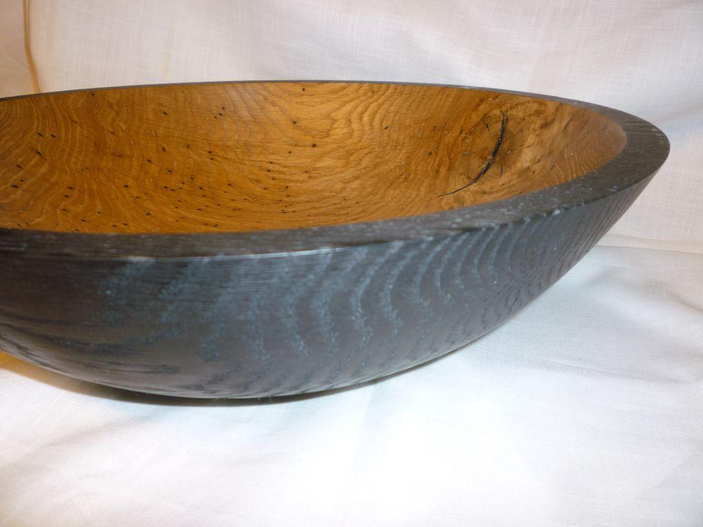 Nr.: 302, alte Eiche einseitig geräuchert, 36 x 10,5 cm