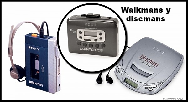 Walkmans y Discmans