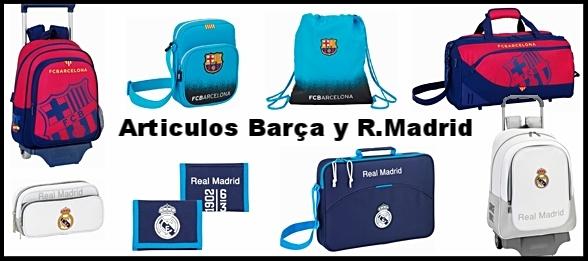 Artículos del FC.Barcelona y el R.Madrid