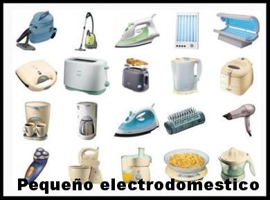 Pequeño electrodoméstico.