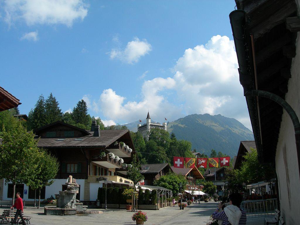 Dorfplatz Gstaad