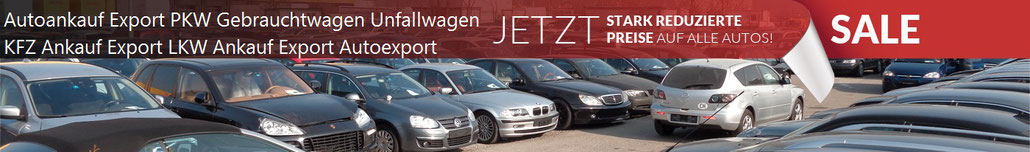 kfz ankauf export kfz ankauf autoexport unfallwagen pkw. Black Bedroom Furniture Sets. Home Design Ideas