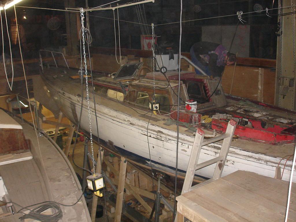 Das Boot im Dezember 2007