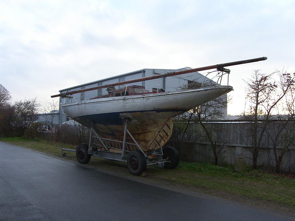 Seebrise bei Yachtwerft Meyer, danke für die Unterstützung Jan!